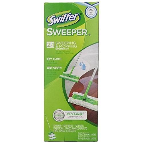 Swiffer Sweeper Floor Mop Starter Kit Surface Care 1 CT PEG - $8.99