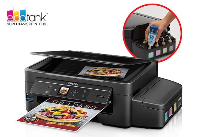 $100 off Wireless Refurbished EcoTank Printer (with Refillable Ink Tank) $152