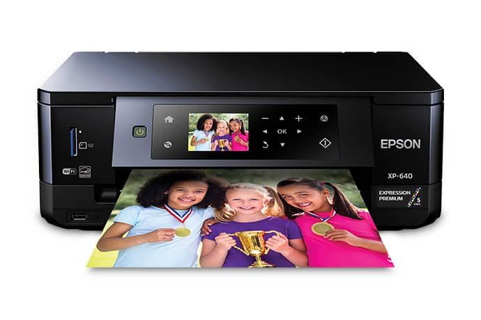 50% off Premium XP-640 All-in-One Printer Refurbished with Free Shipping $67