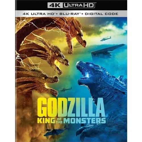 Godzilla: King of the Monsters (4K Ultra HD + Blu-ray + Digital Copy) - $9.96 w/ Free Store Pickup