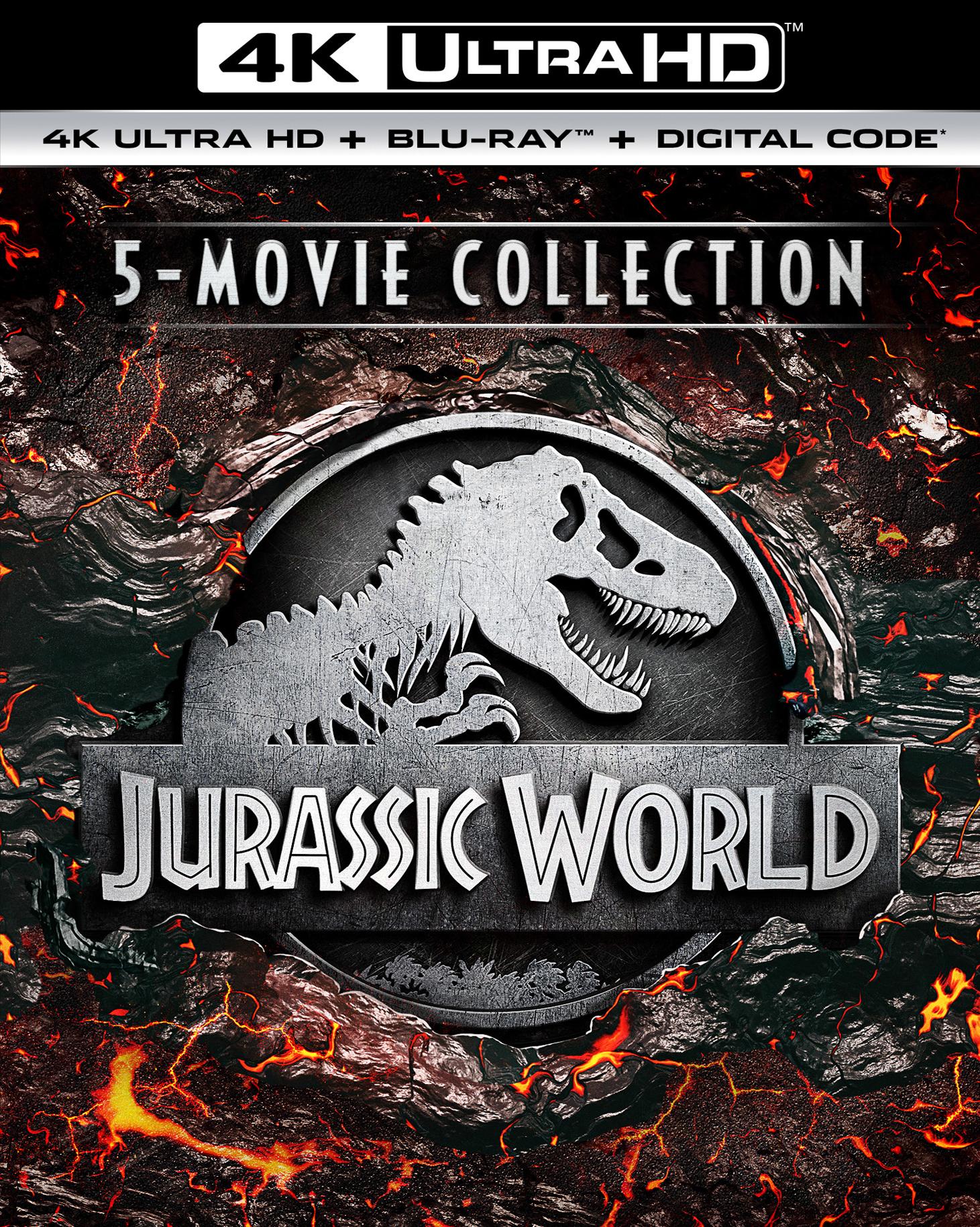 Jurassic Park 5-Movie 4K Collection - $44.99 @ Best Buy