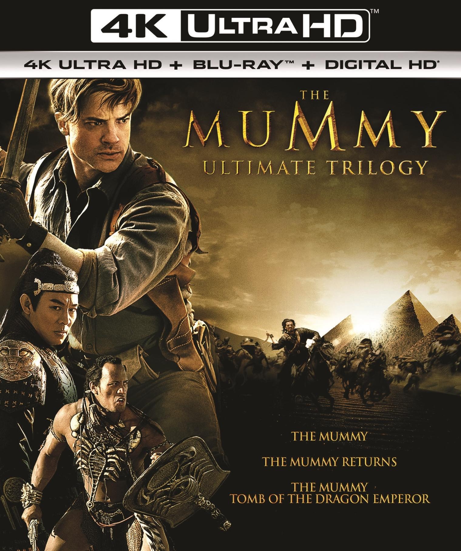 Mummy Ultimate Trilogy 4K UHD + Blu-Ray + Digital HD $24.99 @ Best Buy and Amazon