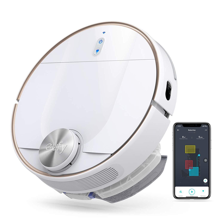 20 hour lightning deal - $380 - eufy RoboVac L70 Hybrid, Robot Vacuum Cleaner
