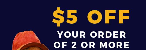 ATOM - $5 off PADDINGTON 2 tickets!