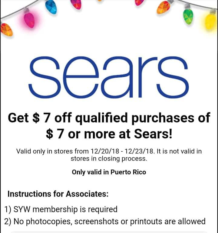 19081a78d99a Shop Your Way Members   7 Off Qualifying Sears Purchase of 7+ ...