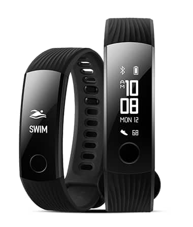 Honor Band 3 -  Fitness tracker band with heart rate sensor and waterproof - 2 day sale $29.50+tax