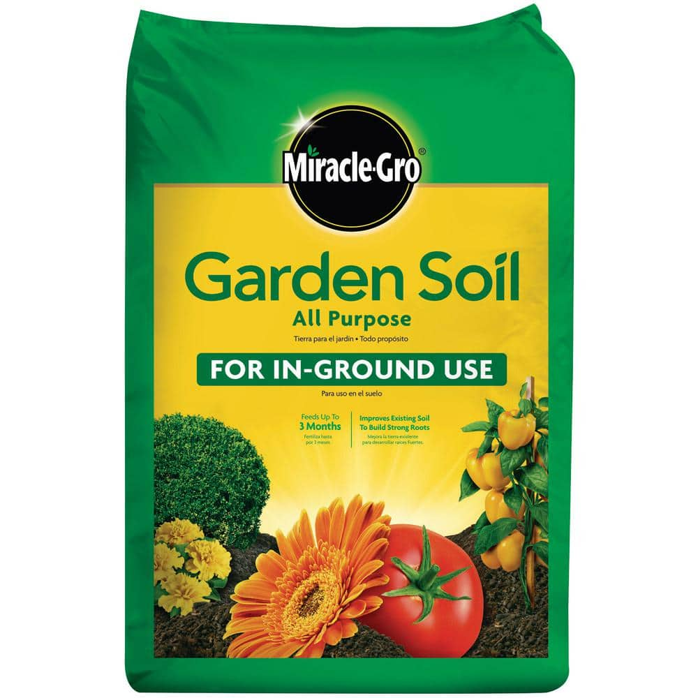 Miracle-Gro 0.75 cu. ft. All Purpose Garden Soil at Home Depot for