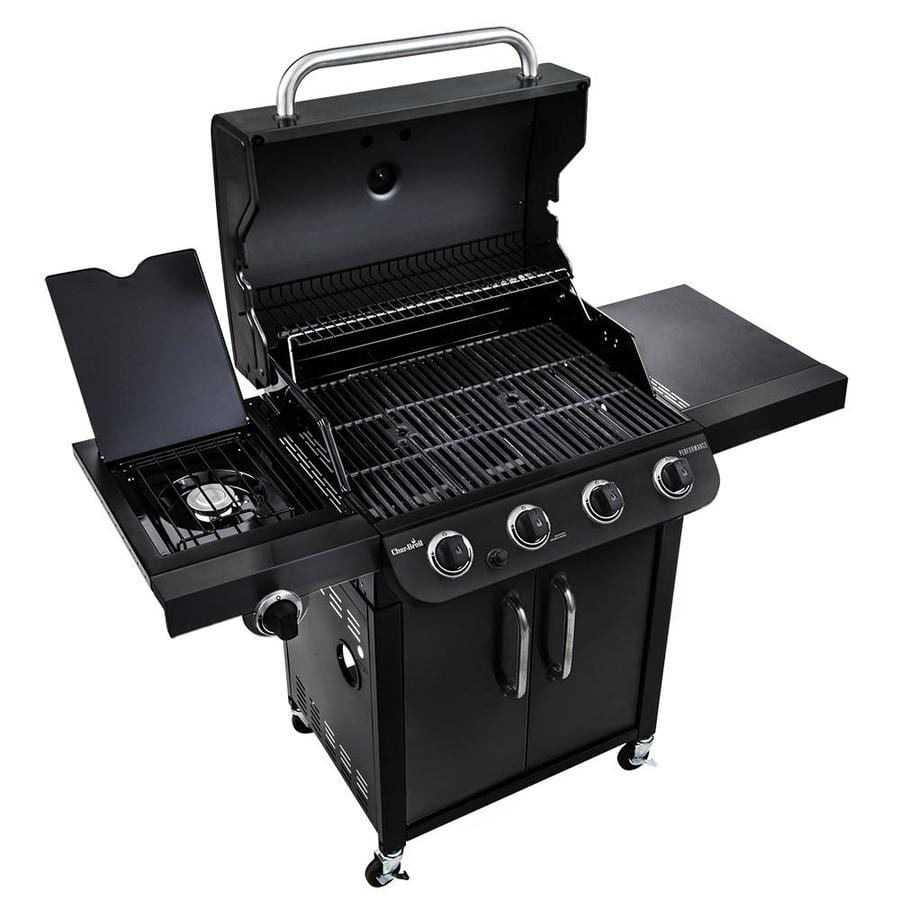 Char Broil Performance Black 4 Burner Liquid Propane Gas Grill With 1 Side Burner Ymmv