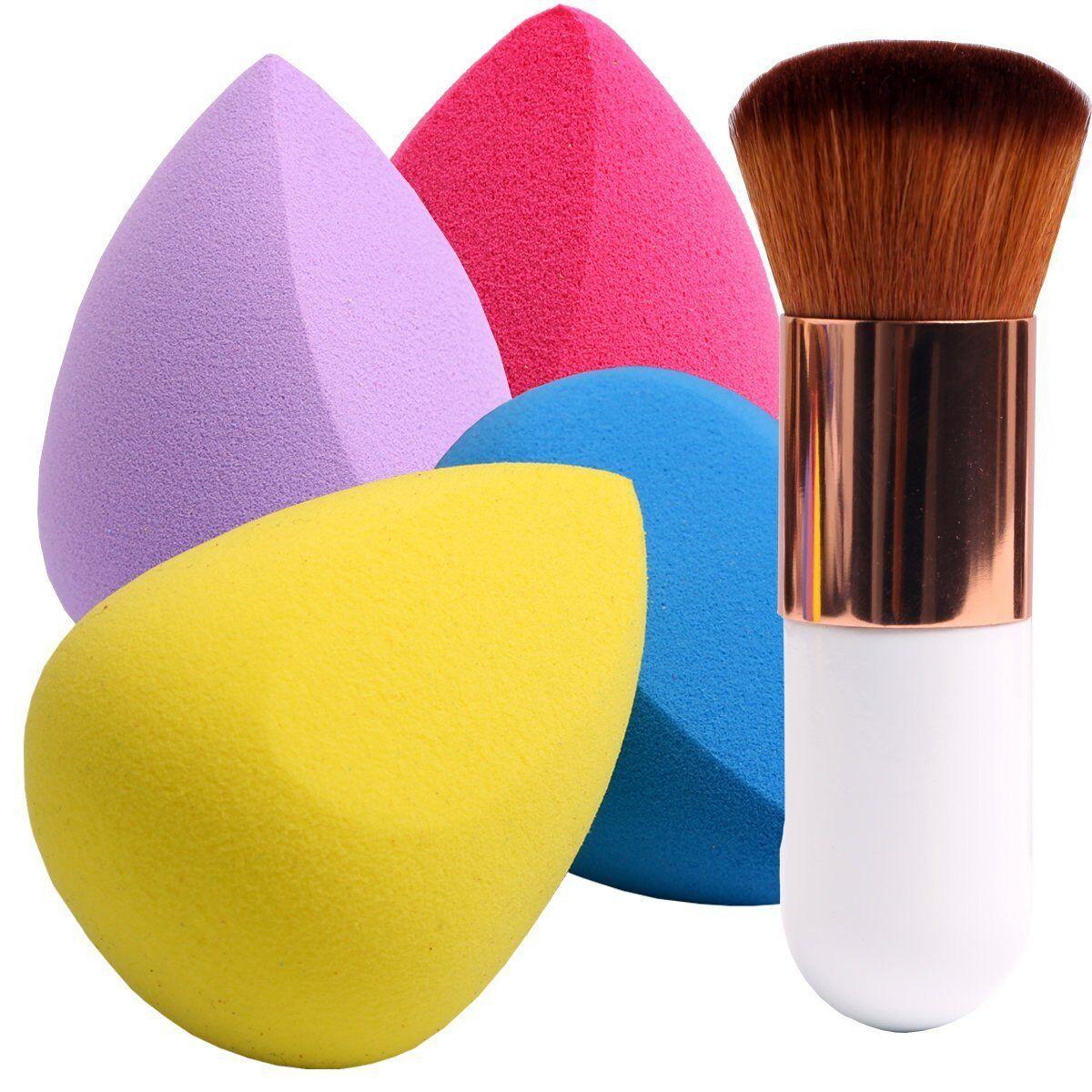 5 Pcs Makeup Sponges with Contour Brush, Professional Beauty Sponge Blender & Face Brush Set $8.18 AC + FS Amazon Prime