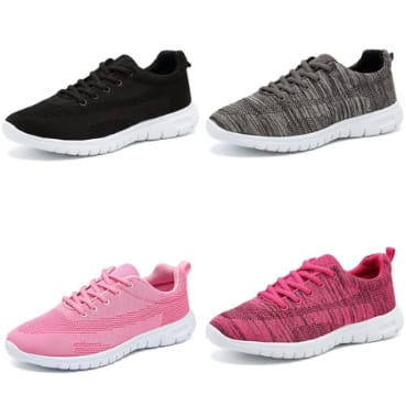 c2bd8027d2d0f Women's Lightweight Sneakers Casual Athletic Running Walking Shoes ...