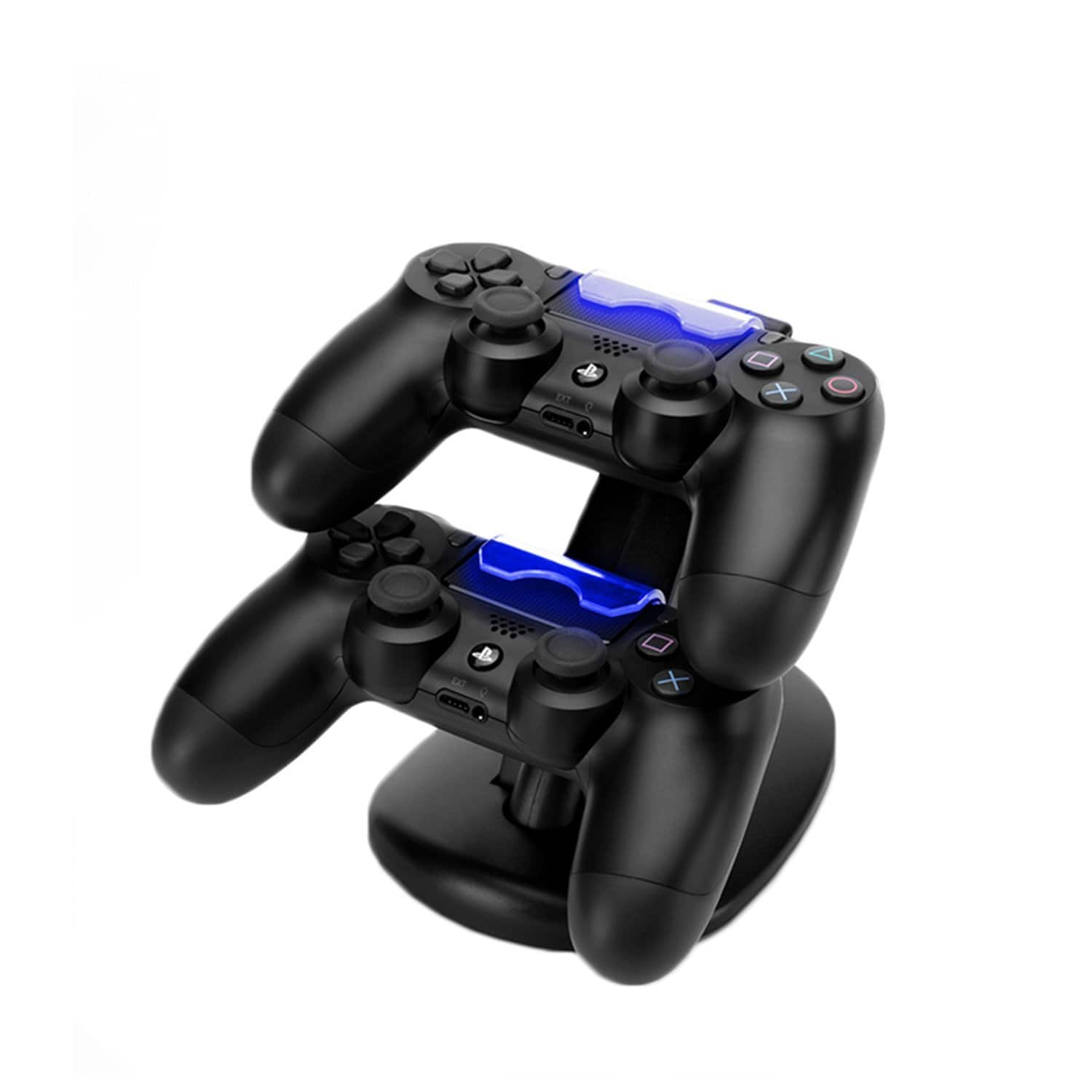 MOFIR PS4 Dual USB Controller Charging Dock Station with LED Indicator for Sony Playstation 4 [PS4] $5.99 AC + FS Amazon Prime