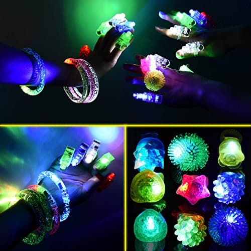60 PCS LED Light Up Toys Glow in the Dark Party Supplies $12.89 @Amazon F/S Prime