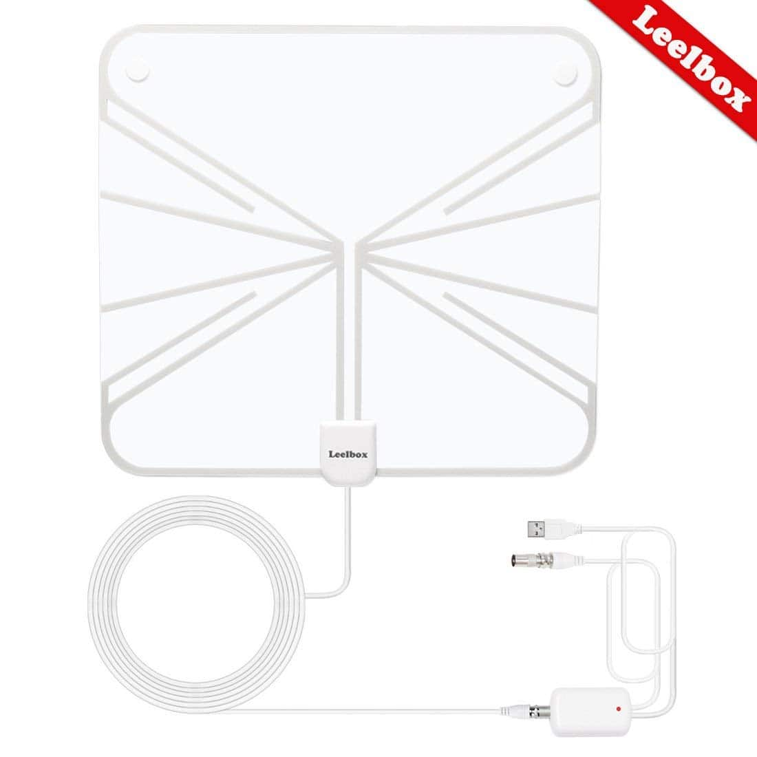 60-mile range HDTV Antenna with Amplifier / Booster $6.99 AC FS Amazon Prime
