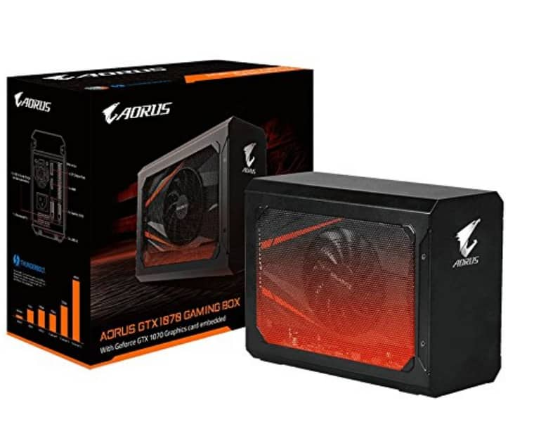 Gigabyte AORUS GTX 1070 GV-N1070IXEB-8GD eGPU $599.99 at AMAZON Prime