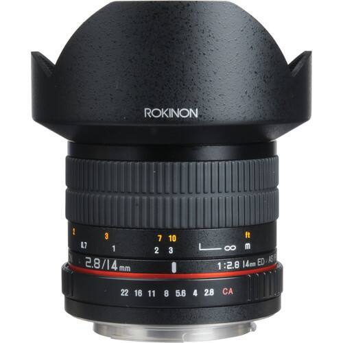 Rokinon 14mm f/2.8 IF ED UMC Lens For Canon EF $249