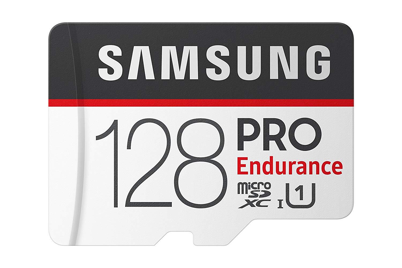 Amazon: Samsung PRO Endurance 64GB 100MB/s micro SD cards: 128GB: $32.99, 64GB: $15.99, 32GB: $9.99