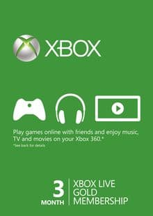 3 Month Xbox Games Pass $18.78