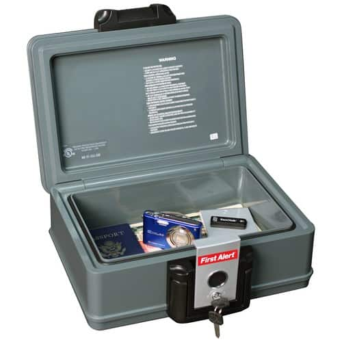 First Alert 2013F Water and Fire Protector File Chest, 0.17 Cubic Feet $18.9