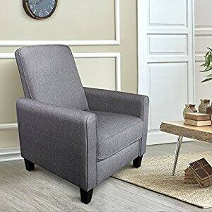 Langria Push-Back Recliner Chair w/ Footrest $89.99