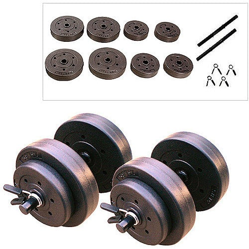 Gold's Gym 40-lb. Vinyl Weight Set + In Store Pickup $14.92