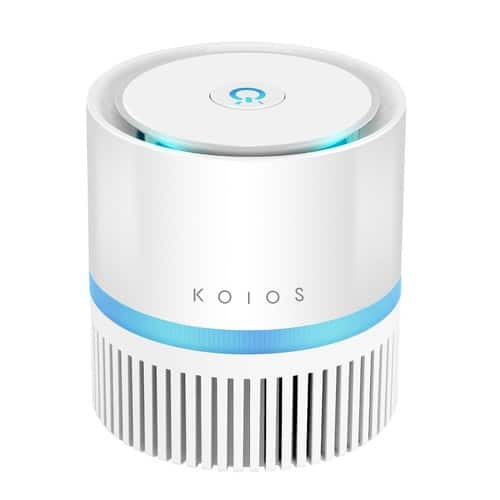 Koios Desktop Air Purifier with HEPA Filter w/ Free Shipping $40.19