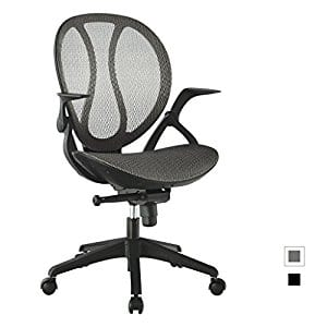 Langria Mid-Back Mesh Adjustable Swivel Chair w/ Free Shipping $49.99