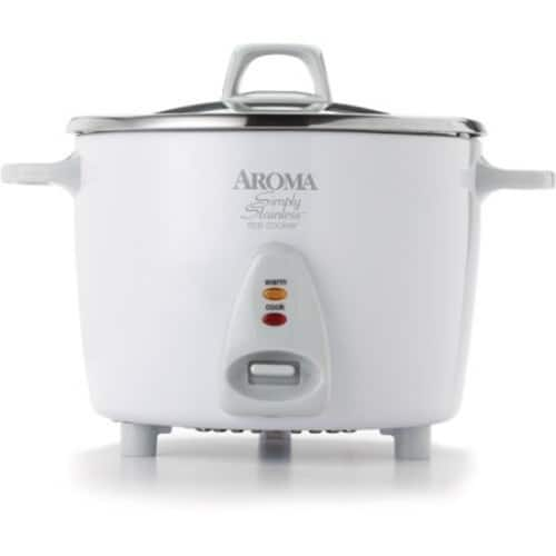 Aroma Simply Stainless Pot Rice Cooker $36.99