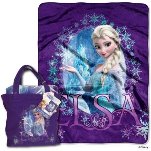 Disney Frozen Queen Elsa Tote and Throw Set w/ In-store Pickup $8