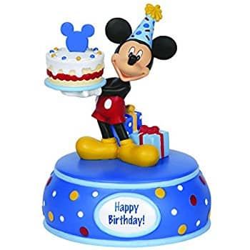 Precious Moments Mickey Mouse B-Day Music Box $18.33