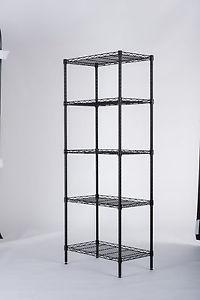 """60"""" Heavy Duty 5-Shelf Storage Rack $25.99"""