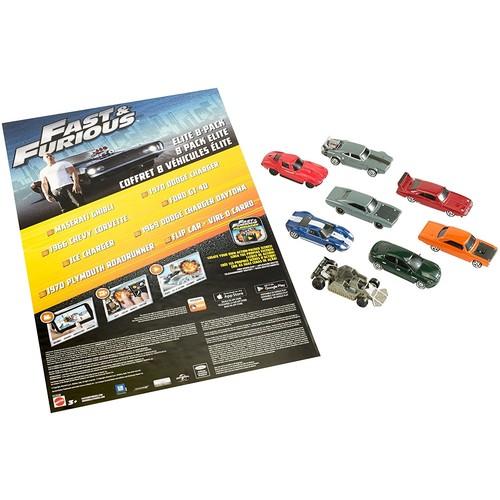Fast & Furious Elite Diecast Vehicles 8-Pack $9.81