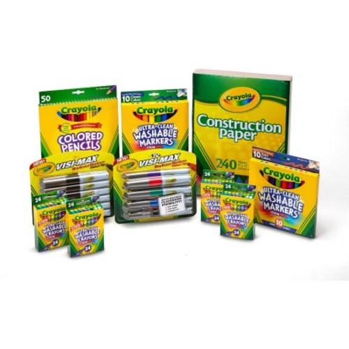 Crayola 180-Piece Classroom Activity Pack $20.71