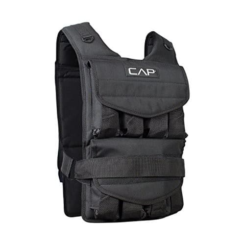 Cap Barbell Adjustable Weighted Vest $57.99