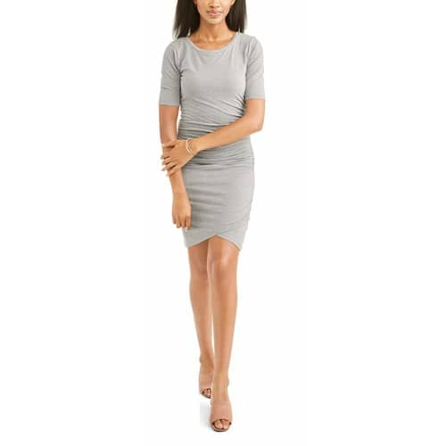 Thyme & Honey Women's Ruched Side Dress $5