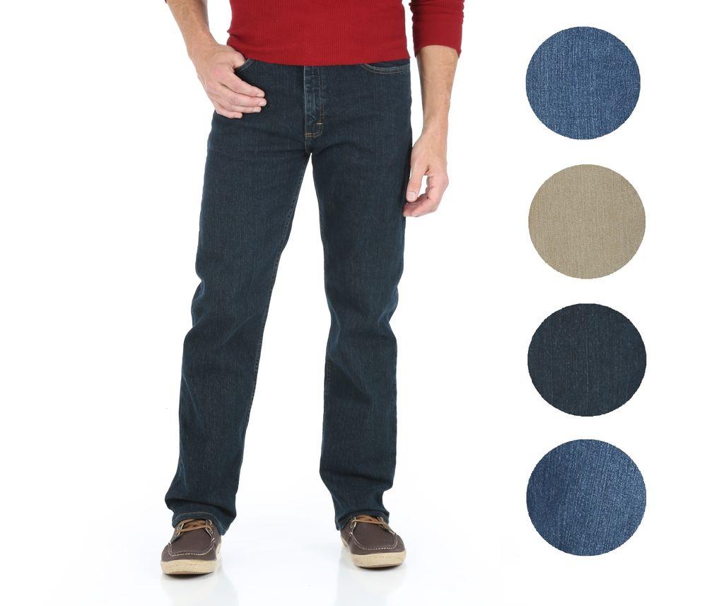 3 Pairs Wrangler Men's Straight Leg Jeans $28.78