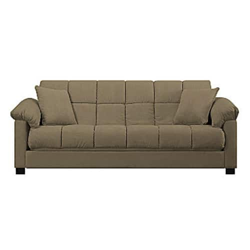 Taylor Pillow-Top Arm Convert-a-Couch $299.25