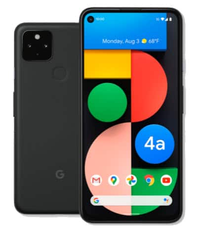 Google Fi - Pixel 4a 5G $299 for new customers or $399 for existing customers with Fi service