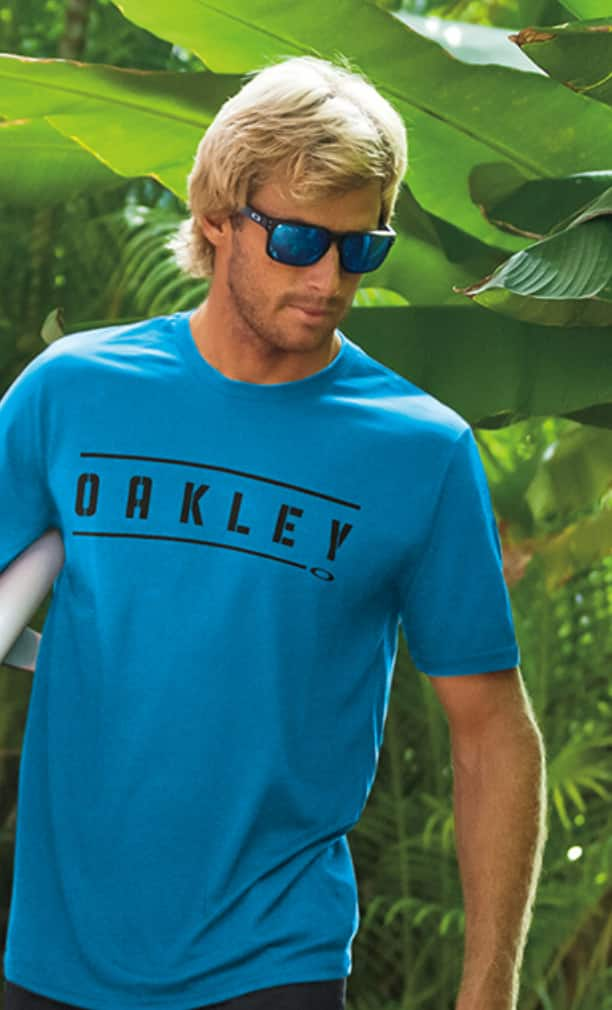 Oakley offers discounts for polarized sunglasses