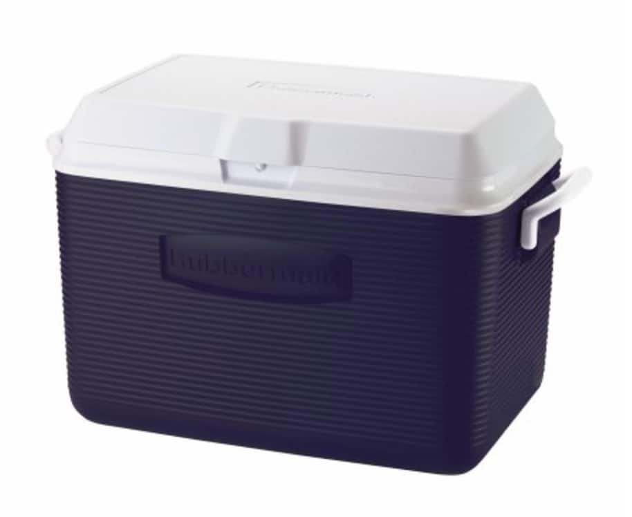 Rubbermaid 48 qt Ice Chest Cooler, Blue $7 YMMV