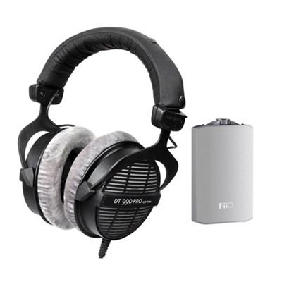 BeyerDynamic DT990 Open Headphones 250 Ohms w/ FiiO A3 Amp $154