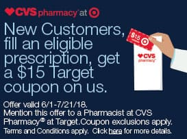 target 15 coupon when you fill a prescription new customers only