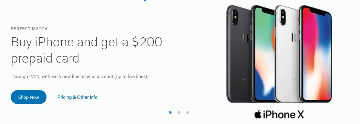 Iphone X@$799 - $200 off on any Iphone with xfinity mobile
