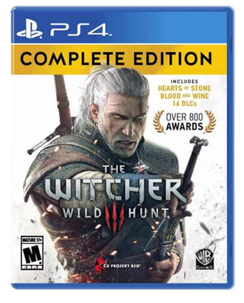 The Witcher 3: Wild Hunt Complete Edition (PS4 or Xbox One)