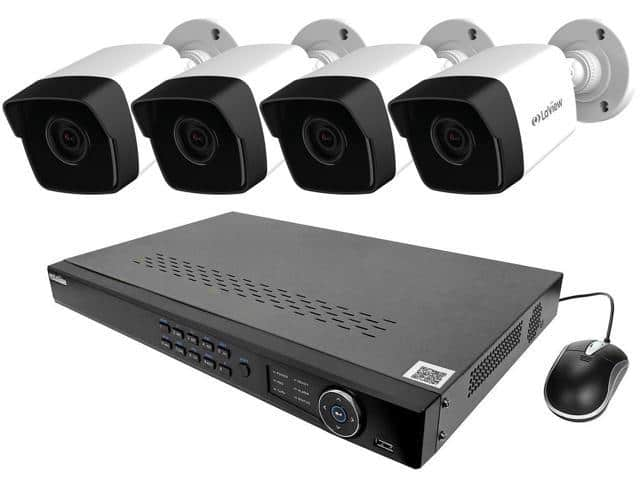 LaView NVR PoE IP Security System