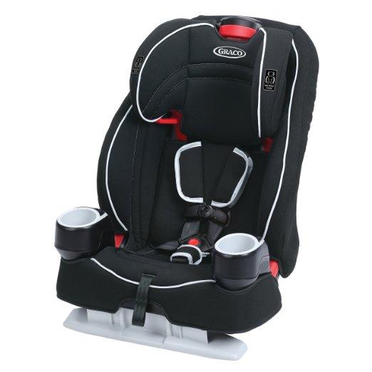 Graco Atlas 65 2-in-1 Harness Booster Car Seat, Glacier - $82.40 ($67.40 YMMV)