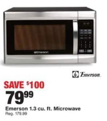 Emerson 1 2 Cu Ft Microwave With Grill Reviews Bestmicrowave