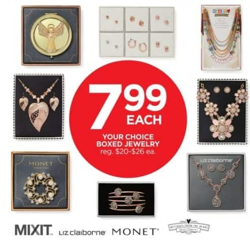 JCPenney Black Friday: Boxed Jewelry by Mixit, Liz Claiborne, Monet and More for $7.99