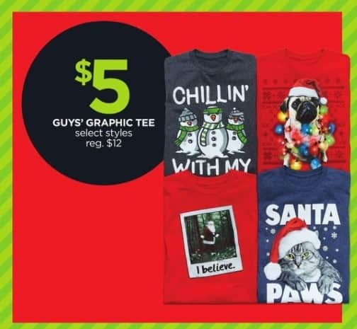 JCPenney Black Friday: Guys' Graphic Tee, Select Styles for $5.00