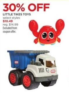 JCPenney Black Friday: Little Tykes Toys, Select Styles for $10.49