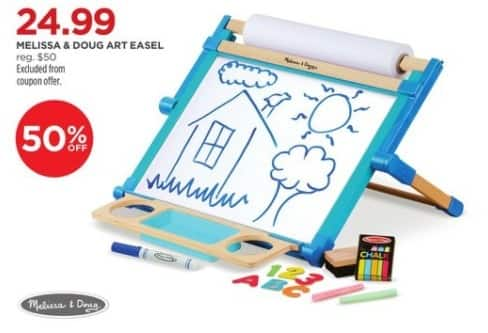 JCPenney Black Friday: Melissa & Doug Art Easel for $24.99